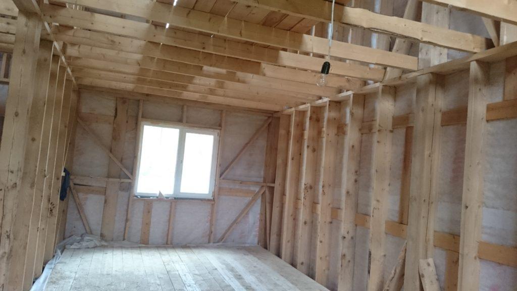 Акция - строительство и ремонт каркасных домов,