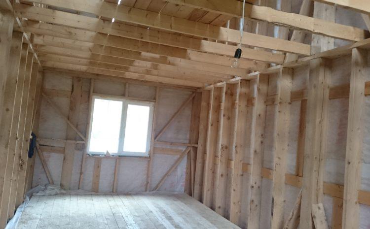 Акция — строительство и ремонт каркасных домов, бытовок, пристроек